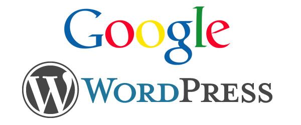 wordpress google